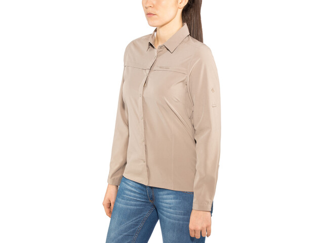 Craghoppers NosiLife Pro II Long Sleeved Shirt Dam mushroom